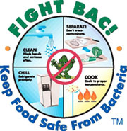 Fight Back - keep food safe from bacteria